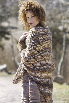 FlyingGeese Shawl Free Knitting Pattern