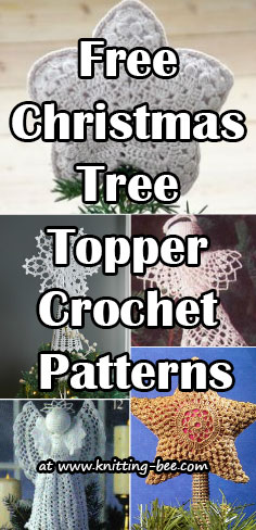 Free Christmas Tree Topper Crochet Patterns
