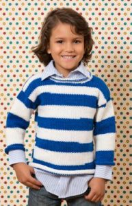 Free Knitting Patterns for Boys Sweaters with Stripes