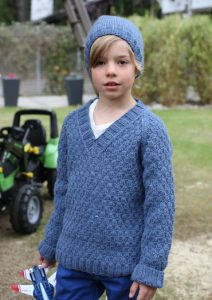 Free Knitting Patterns for Boys Sweaters and Hat