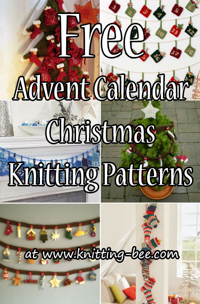 advent calendar knitting patterns