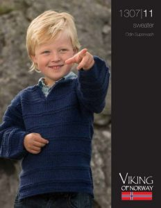 Garter Stripes Boys Sweater Free Knitting Pattern