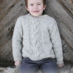 Isak Cabled Sweater Free Knitting Pattern