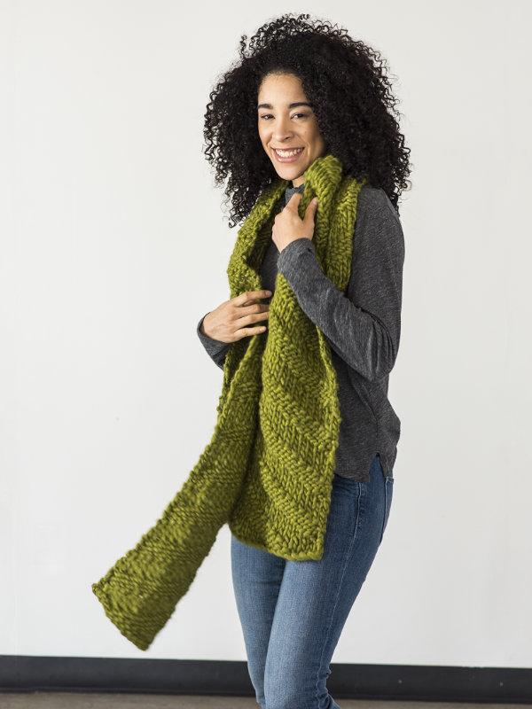 Kallik Easy Scarf Knitting Pattern