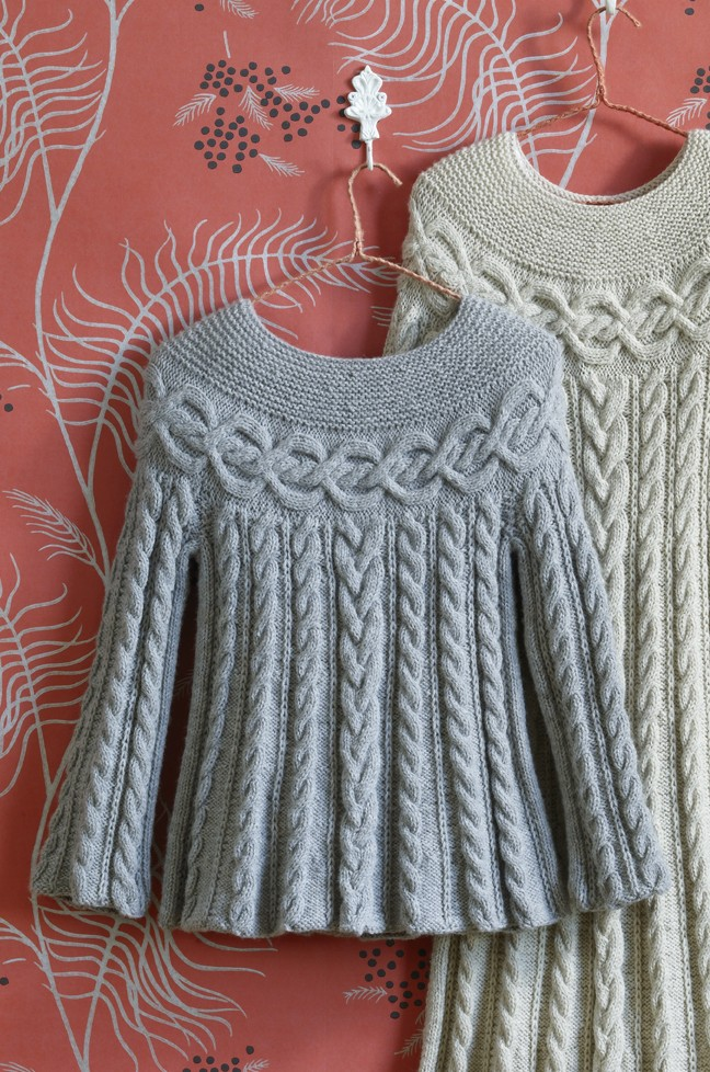 Cable Luxe Tunic Free Knitting Pattern
