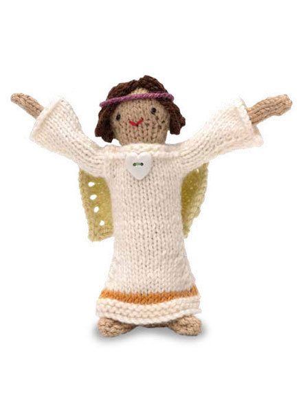 Knitted Angel Doll Free Knitting Pattern
