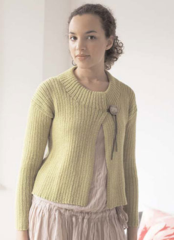 Lena Cardigan Free Knitting Pattern