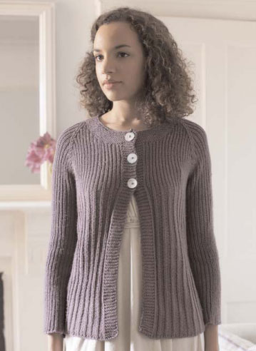 Lily Cardigan Free Knitting Pattern