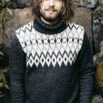 Men's Colourwork Sweater Free Knitting Pattern
