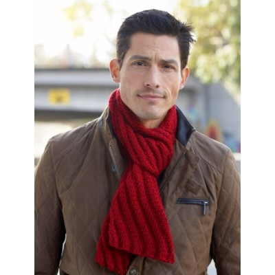 Mens Interchangeable Scarves Free Knitting Pattern Knitting Bee