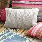 Morgan's Daughter Pillow Free Knitting Pattern