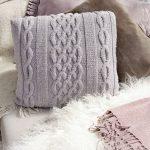 Norfolk Pillow Free Knitting Pattern