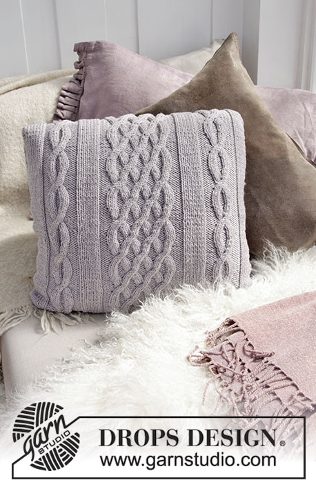 Norfolk Pillow Free Knitting Pattern