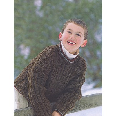 Patons Ribs & Cables Free Knitting Pattern