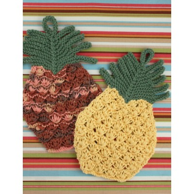 Pineapple Dishcloth Free Knitting Pattern