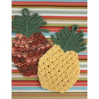 Pineapple Dishcloth Free Knitting Pattern