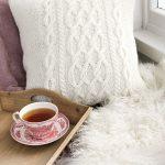 Polar Days Pillow Free Knitting Pattern