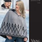 Poncho & Hat Colorwork Free Knitting Pattern