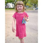 Pretty in Pink Dress Free Knitting Pattern