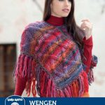 Rainbow Cable Poncho Knitting Pattern Free