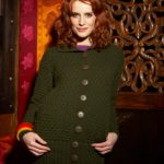 Rib and Garter Jacket Free Knitting Pattern