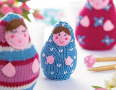 Russian Dolls Free Knitting Pattern