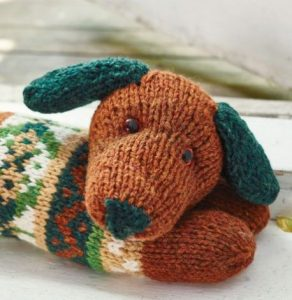 Sausage Dog Draught Excluder Free Knitting Pattern