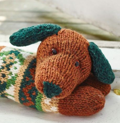 Sausage Dog Draught Excluder Free Knitting Pattern Knitting Bee