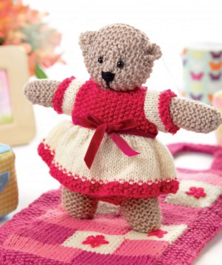 Free Teddy Bear Knitting Patterns 22 Free Knitting Patterns