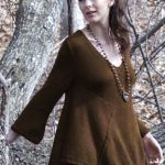 Shirley Bell Sleeve Top Free Knitting Pattern