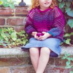Striped Sweater for Kids Free Knitting Pattern