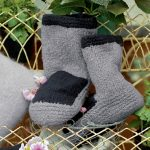 Sula Felted Slippers Free Knitting Pattern