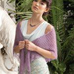 Triangle Shawl Lace Free Knitting Pattern