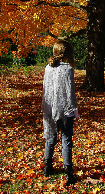 The White Queen's Shawl Free Knitting Pattern