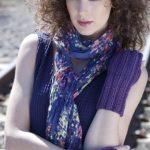 Too Late SAVOY Knit Wristwarmers Free Knitting Pattern