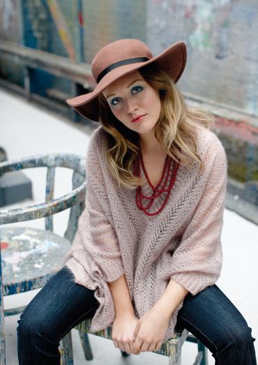 Trinity Oversized Poncho Sweater Free Knitting Pattern