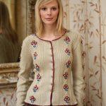 Tyrolean Cardigan Free Knitting Pattern