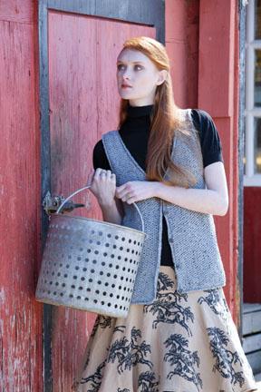 Wainscott Vest Free Knitting Pattern