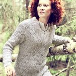 Womans Lace Cardigan Free Knitting Pattern