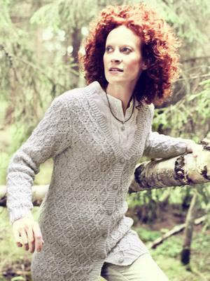 Womans Lace Cardigan Free Knitting Pattern