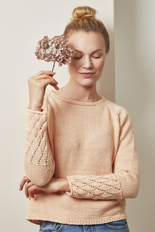 Womens Seamless Sweater Free Knitting Pattern Knitting Bee