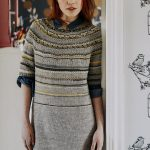 Women's Top-Down Tunic Free Knitting Pattern