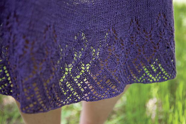 Knitting Skirts Free Patterns : Wrap around skirt free knitting pattern ⋆ bee