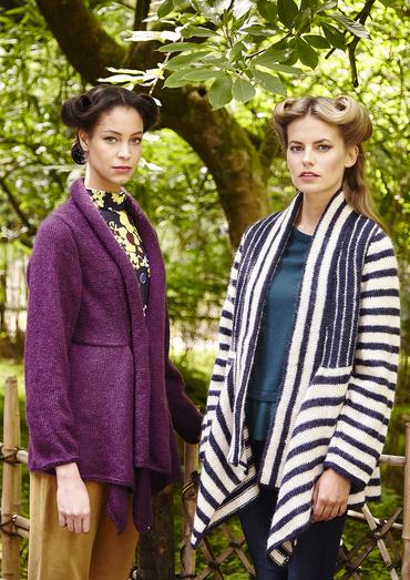 Zandra Rhodes Jacket Free Knitting Pattern