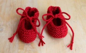 Baby Booties Free Patterns for 0-3 months