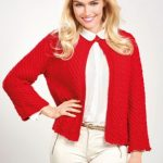 Christmas Cardigan Free Knitting Pattern