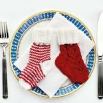 Christmas Cutlery Holders Free Knitting Pattern