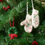 Christmas Mitten Tree Ornament Free Knitting Pattern