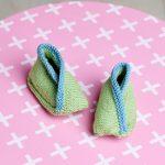 Cotton Wool Booties Free Knitting Pattern