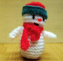 Cute Snowman Knitting Pattern Free